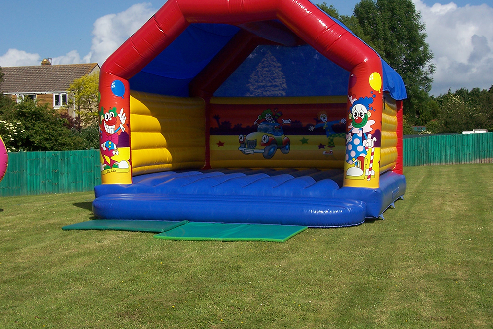 One of our bigger castles, the Clown Castle is perfect for both small and larger parties, corporate events or school fairs. Join our friendly clown for some bouncing fun in this spacious castle. Suitable for all ages.