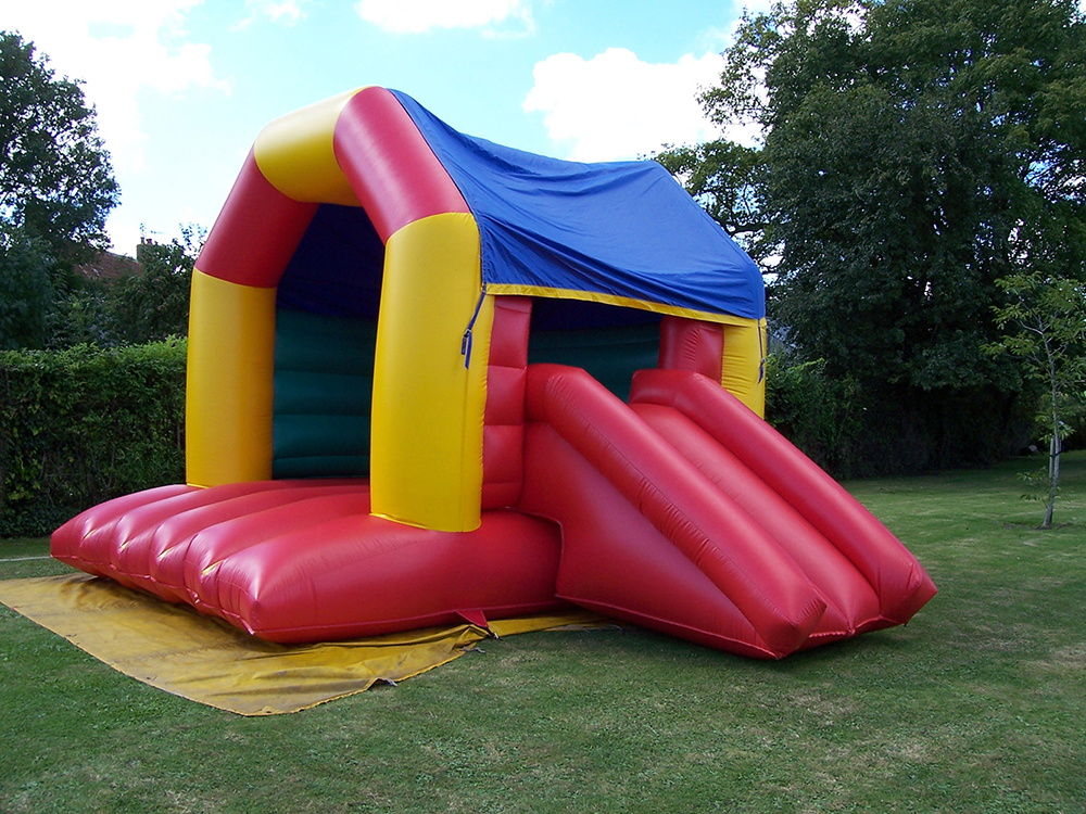 This bouncy castle is similar to our Pre-School Slide & Bounce, but for the bigger kids! Super bouncy and complete with a slide, they will have endless fun on this inflatable. Suitable for ages up to 14.